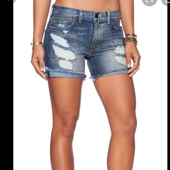 Free People Avi Mexico denim shorts